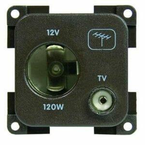 12v (auto) + TV Socket