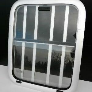 18 x 22 Window Mill/Clear w Bars