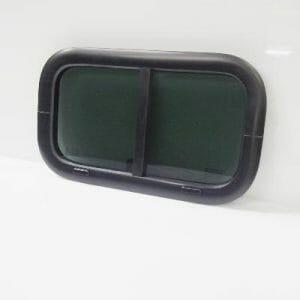 19.5 x 11.5 Black/Tinted Vent Window