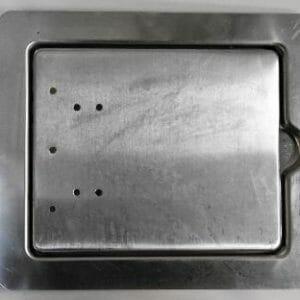 Aluminium Fuel Filler Flap (Large)