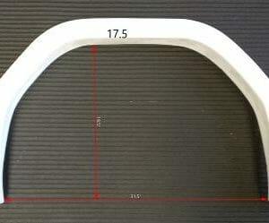 "Wheel Arch Kit (50p) (Pair) 17.5"""