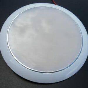 150mm Round LED Interior light White/Blue