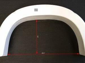 """16"""" Round Wheel Arch Tall"""
