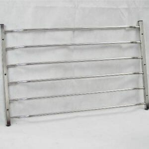 Stainless Steel Cranked Window Bar